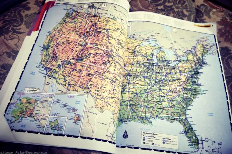 U.S. Map, ReStartExperiment.com