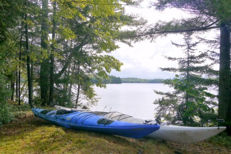 Maine, George's Pond, Kayaks, Kayaking Maine, Wilderness Maine, www.RestartExperiment.com, Dave Brown